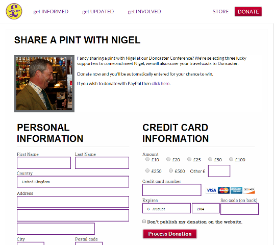 UKIP website