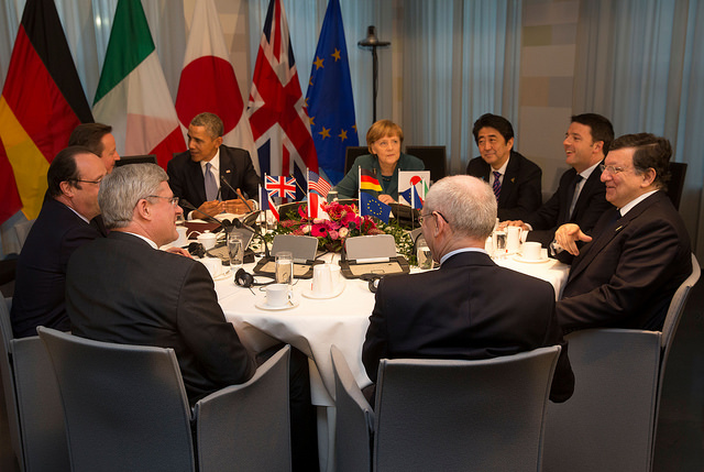 G7 meeting in The Hague