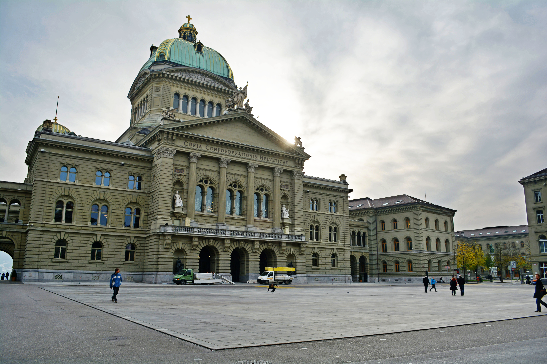 Bundeshaus (Swiss parliament building) in Bern, Switzerland. November 2013 [Petra B. Fritz/Flickr]