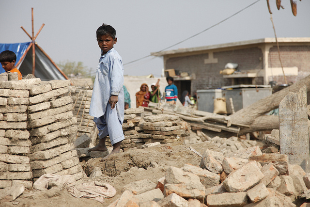 Sindh province, Pakistan.