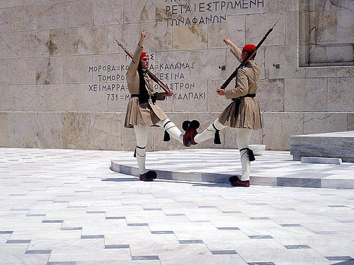 Greek soldiers Athens, undated.[Shutterstock]