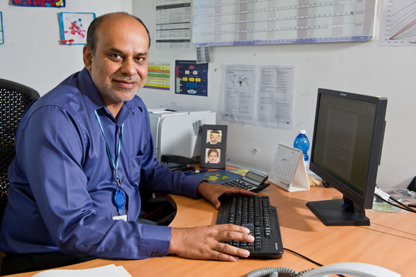 Arif Husain, chief economist at the UN World Food Programme.