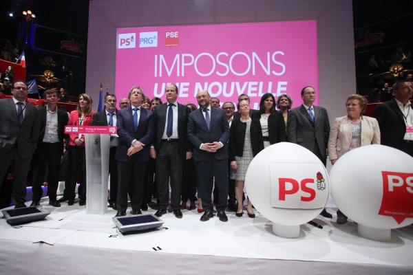 Meeting de Martin Schultz à Paris - 17 avril 2014