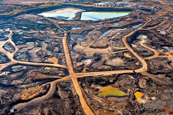 tar sands field