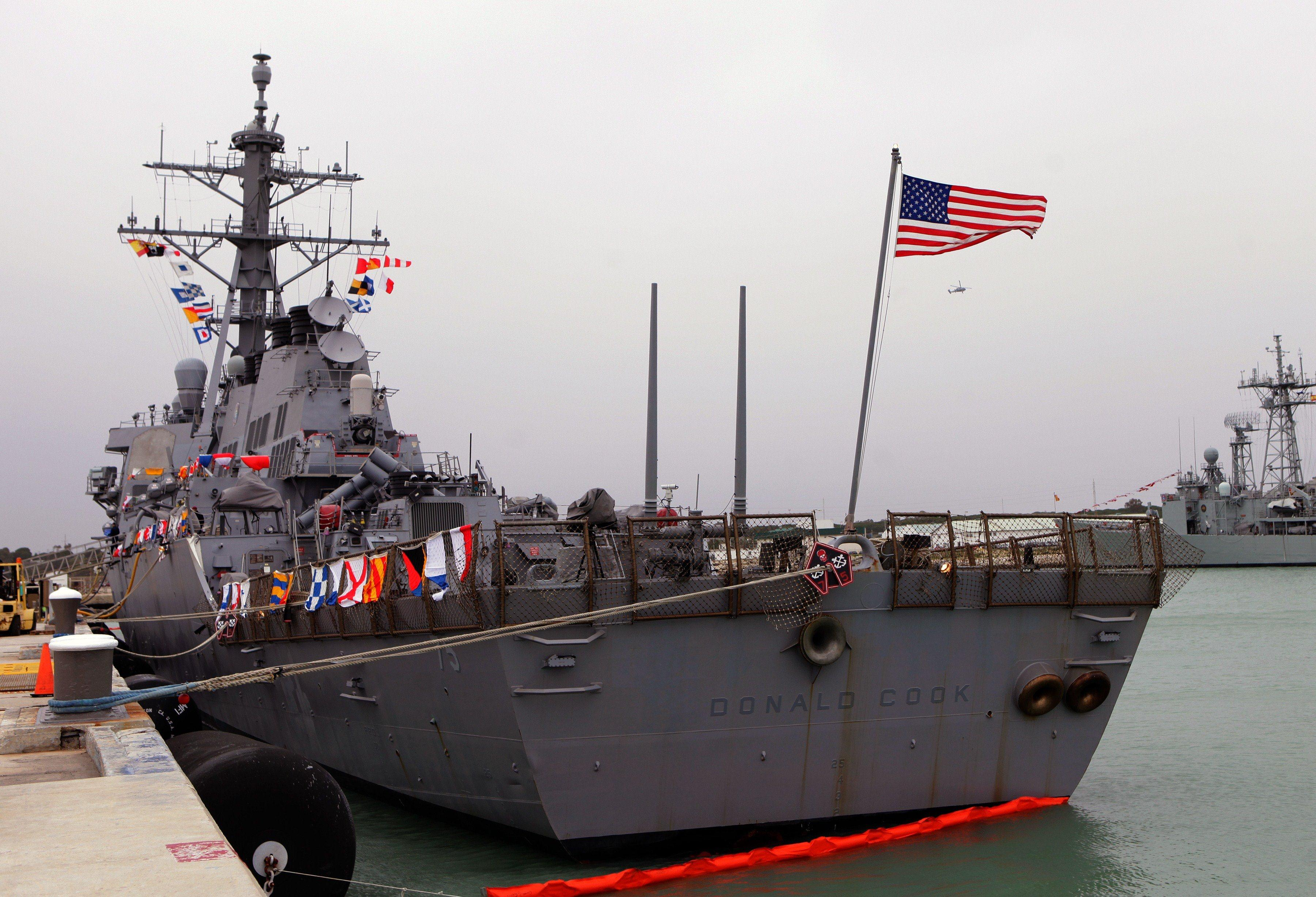 US Navy has sent destroyer Donald Cook in Black Sea to support Ukraine