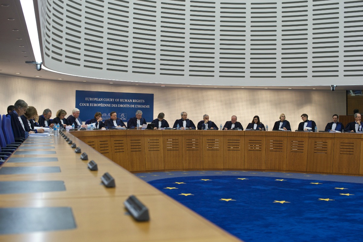 A Grand Chamber hearing at the European Court of Human Rights [Photo : Sandro Weltin/©Council of Europe]