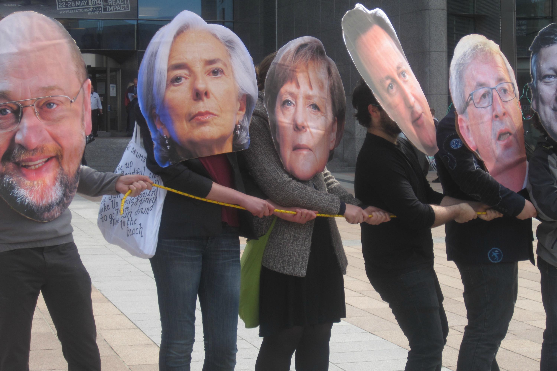 """""""EU leaders"""". Photo Georgi Gotev"""