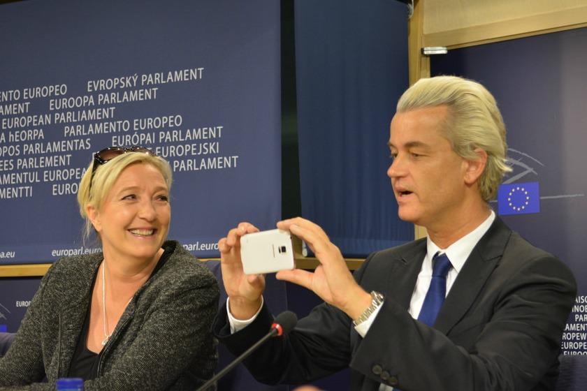 Marine Le Pen (FN) & Geert Wilders (PVV)