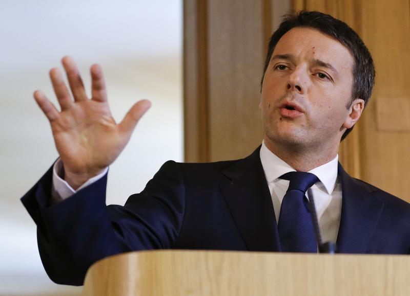 Matteo Renzi, Premier ministre d'Italie