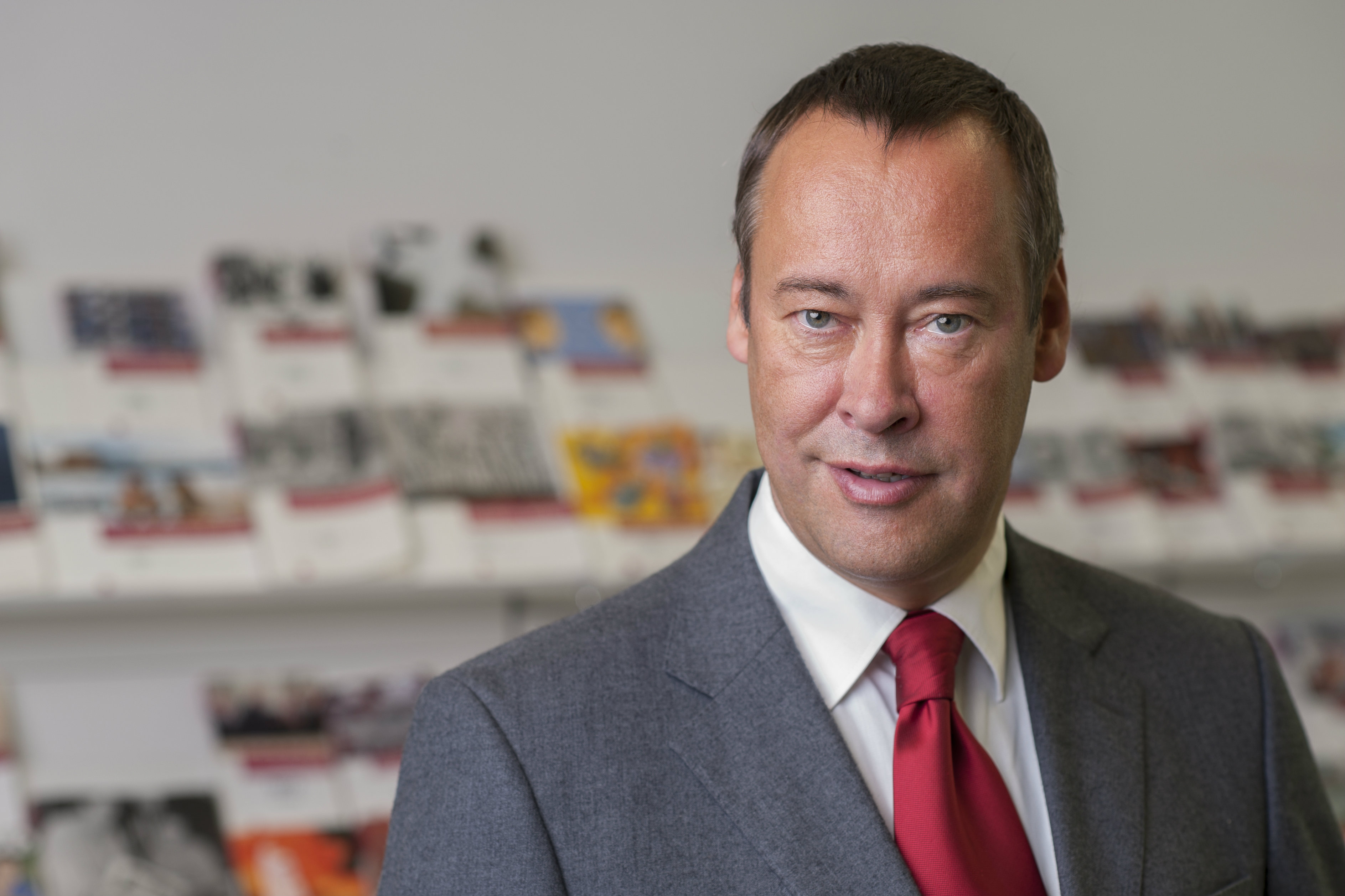 Thomas Krüger is president of the German Federal Agency for Civic Education (bpb). [bpb]