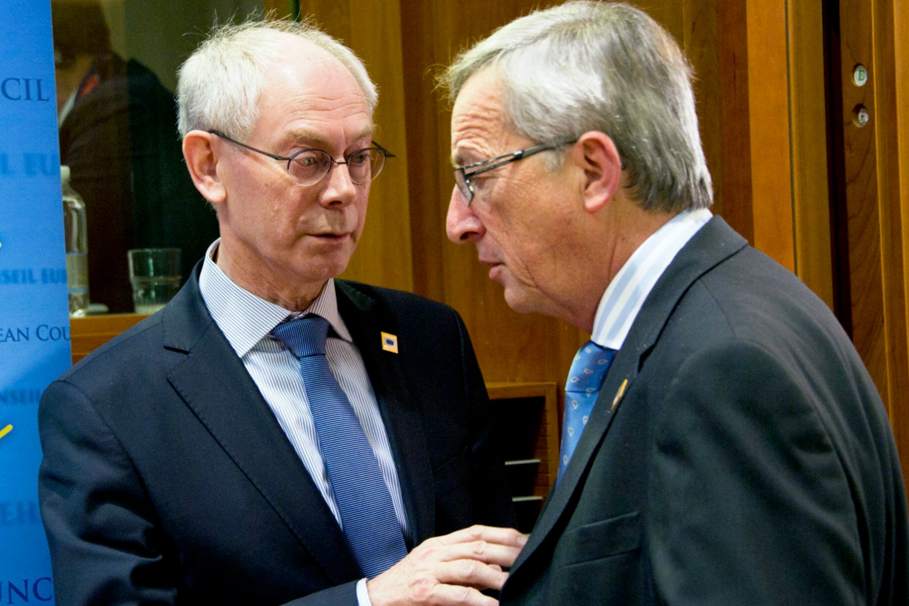 Herman Van Rompuy and Jean-Claude Juncker [European Council]