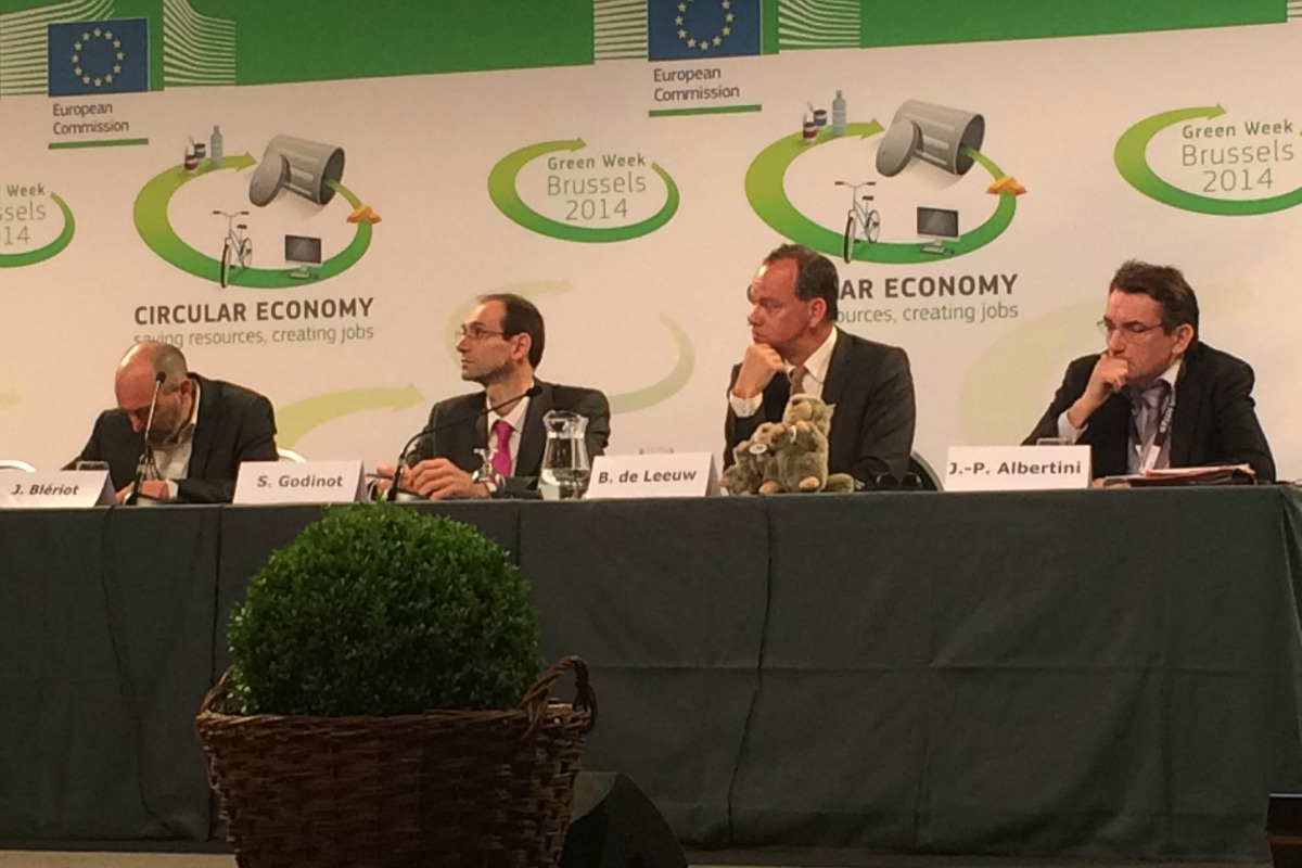 A panel at this year's Green Week event in Brussels [Photo: Aline Robert]