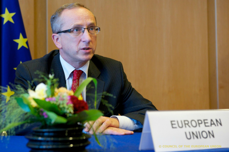 EU ambassador to Ukraine Jan Tombi?ski