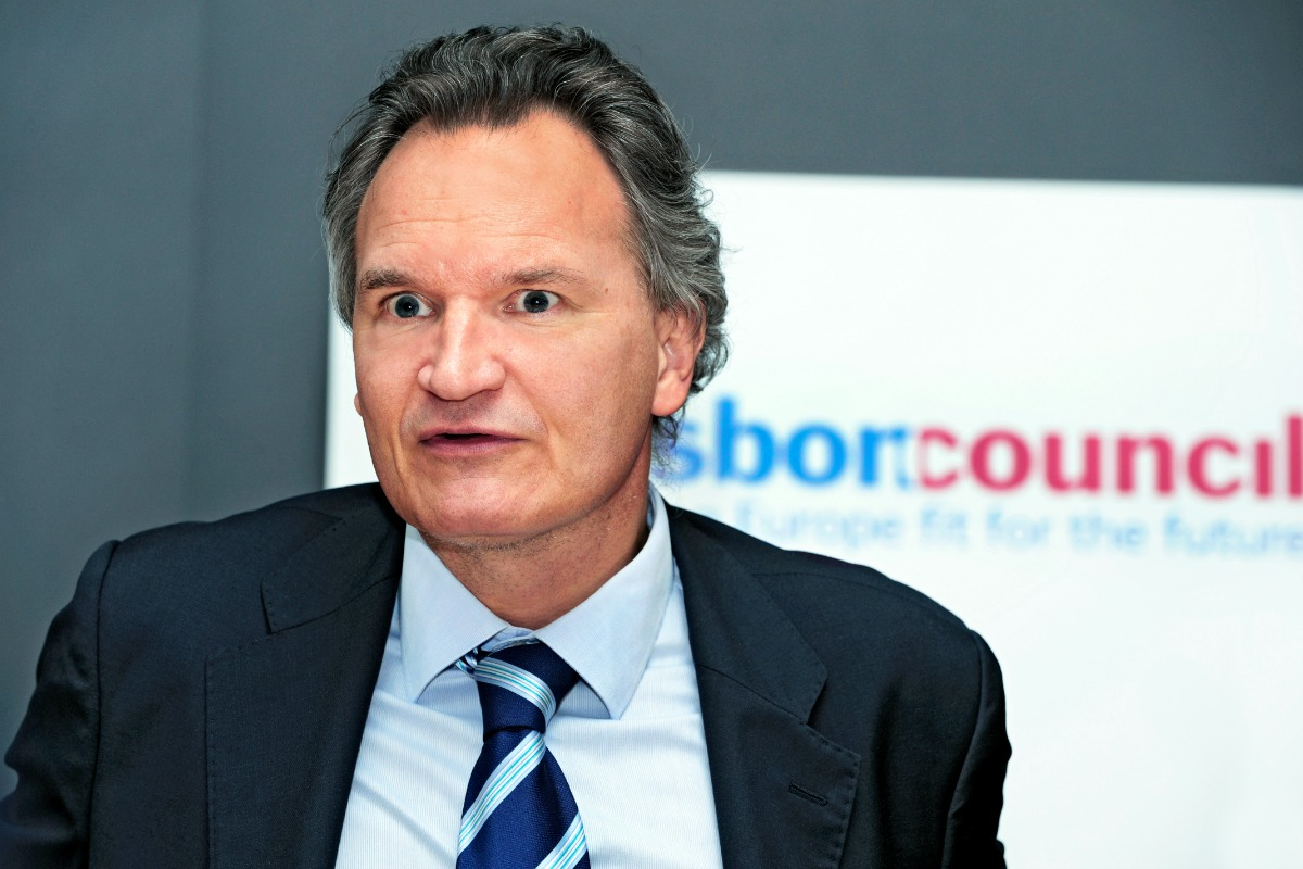 Robert-Jan Smits, Director General for Research and Innovation at the European Commission [Photo: Lisbon Council's Flickr photostream]
