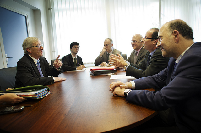 Juncker and Hollande