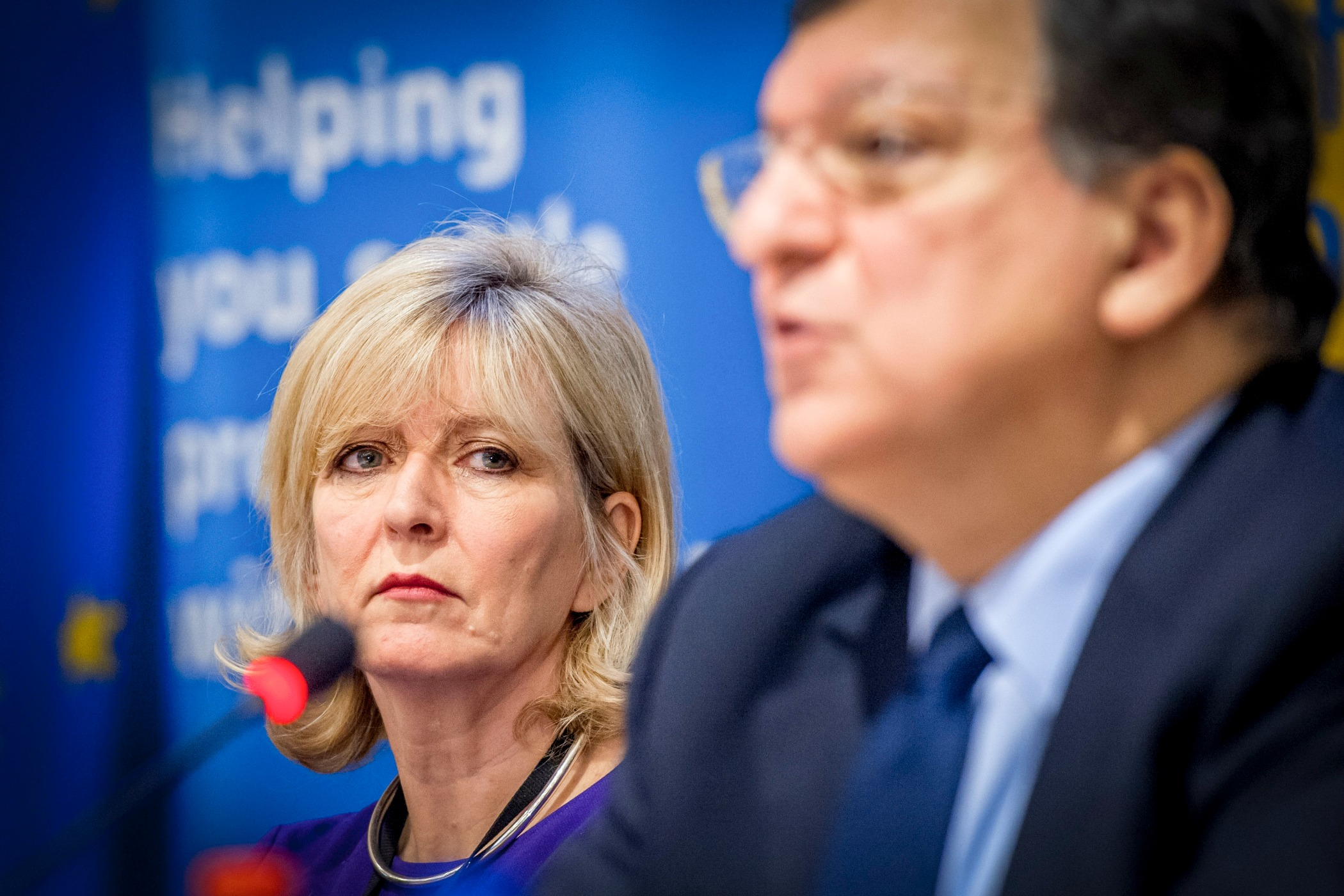 Emily O'Reilly, EU Ombudsman, with EU Commission president 2009-2014, José Manuel Barroso [European Commission]