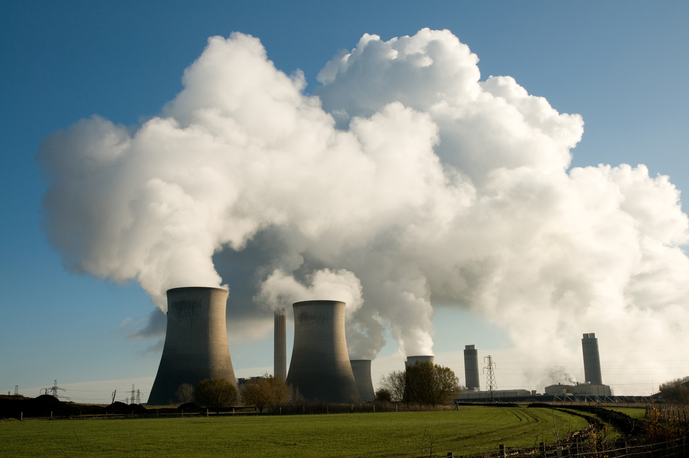 Emissions from a power station. [Stocker1970/Shutterstock].