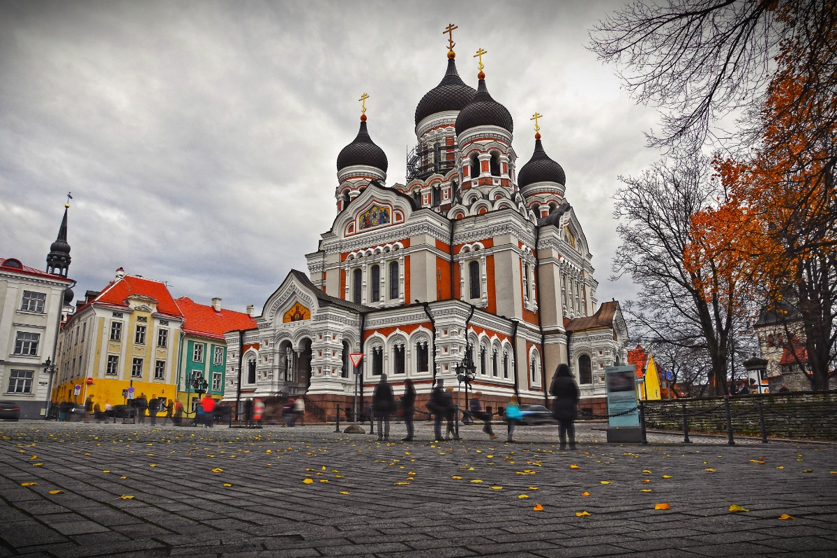 Alexander Nevsky Cathedral in Tallinn, Estonia [Photo: Shutterstock]
