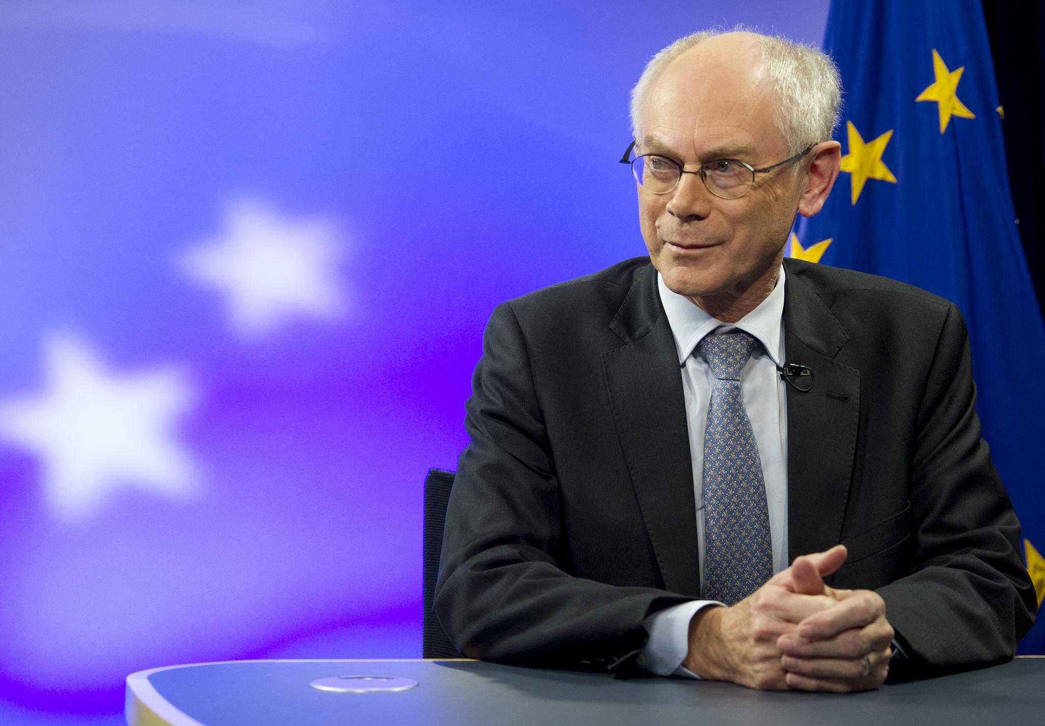 Herman Van Rompuy [President of the European Council/Flickr]