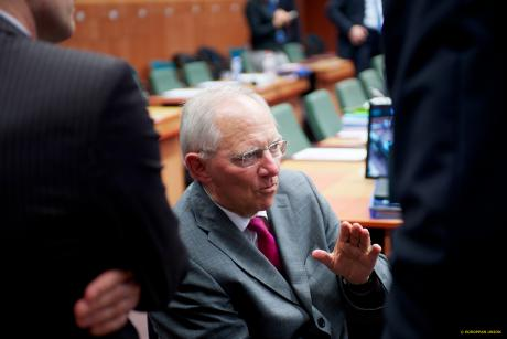 German Finance Minister Wolfgang Schäuble doubts France's claim to the Commission portfolio Economic and Monetary Affairs. [The Council of the European Union]