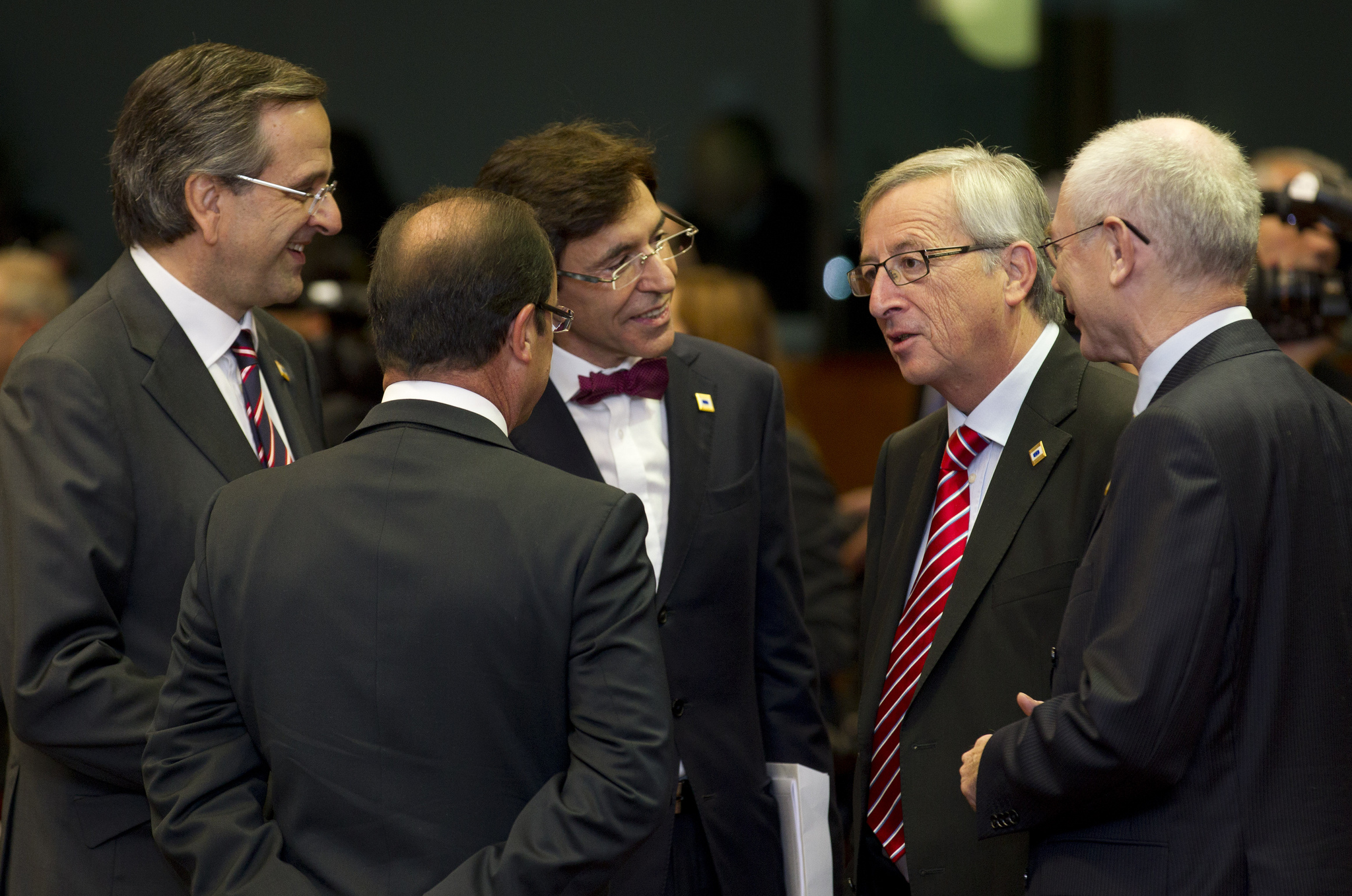 Jean-Claude Juncker with European heads of state [European Council]