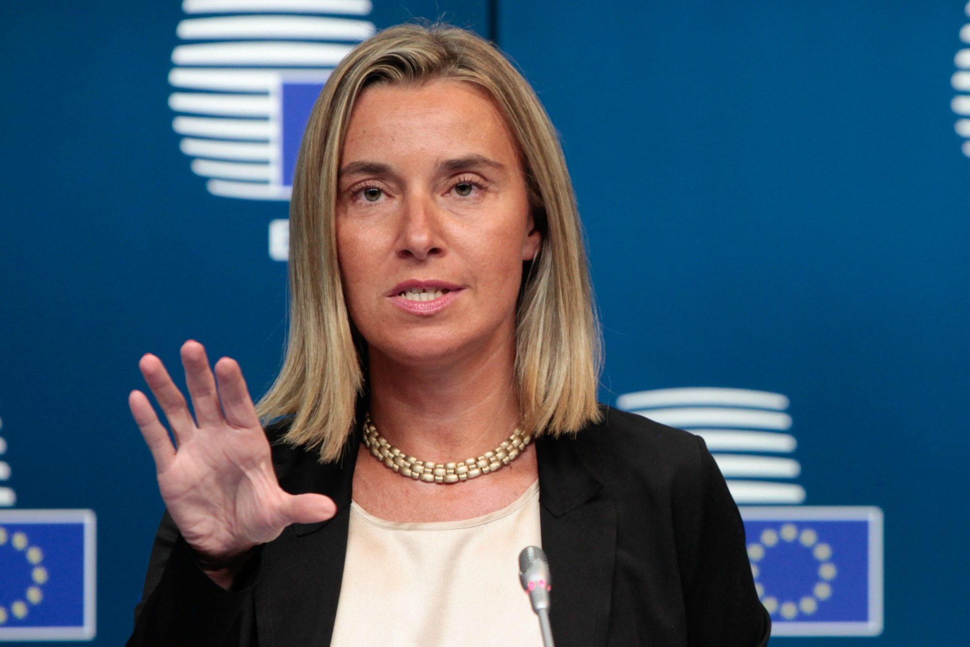 Federica Mogherini [European Commission]