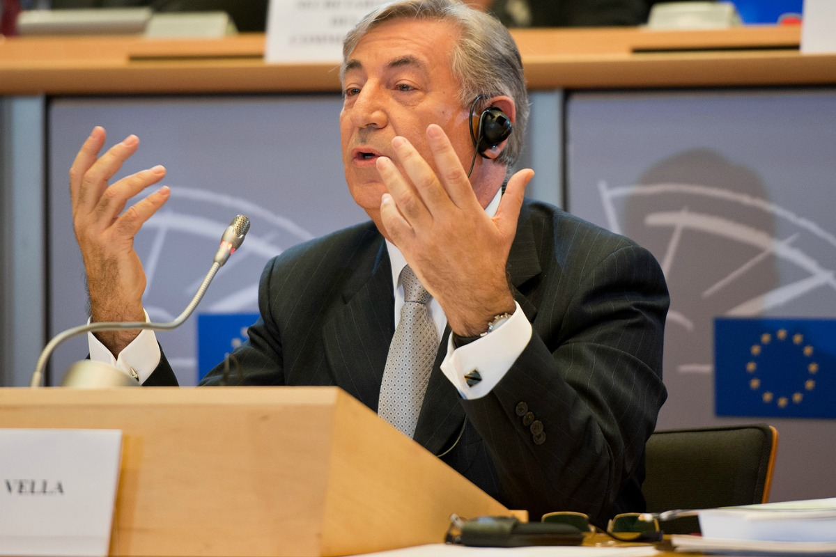 Karmenu Vella under scrutiny at the European Parliament [Photo: European Parliament / Flickr]