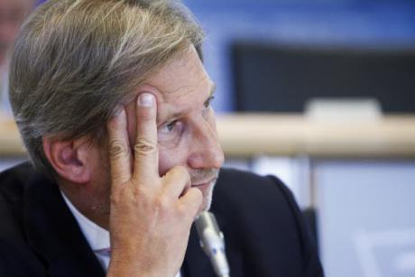 Former Commissioner of the Regions Johannes Hahn attended a hearing the European Parliament on Tuesday (30 September) test the Austrian on his new appointment as Commission of Enlargement and Neighbourhood Policy. [EP}