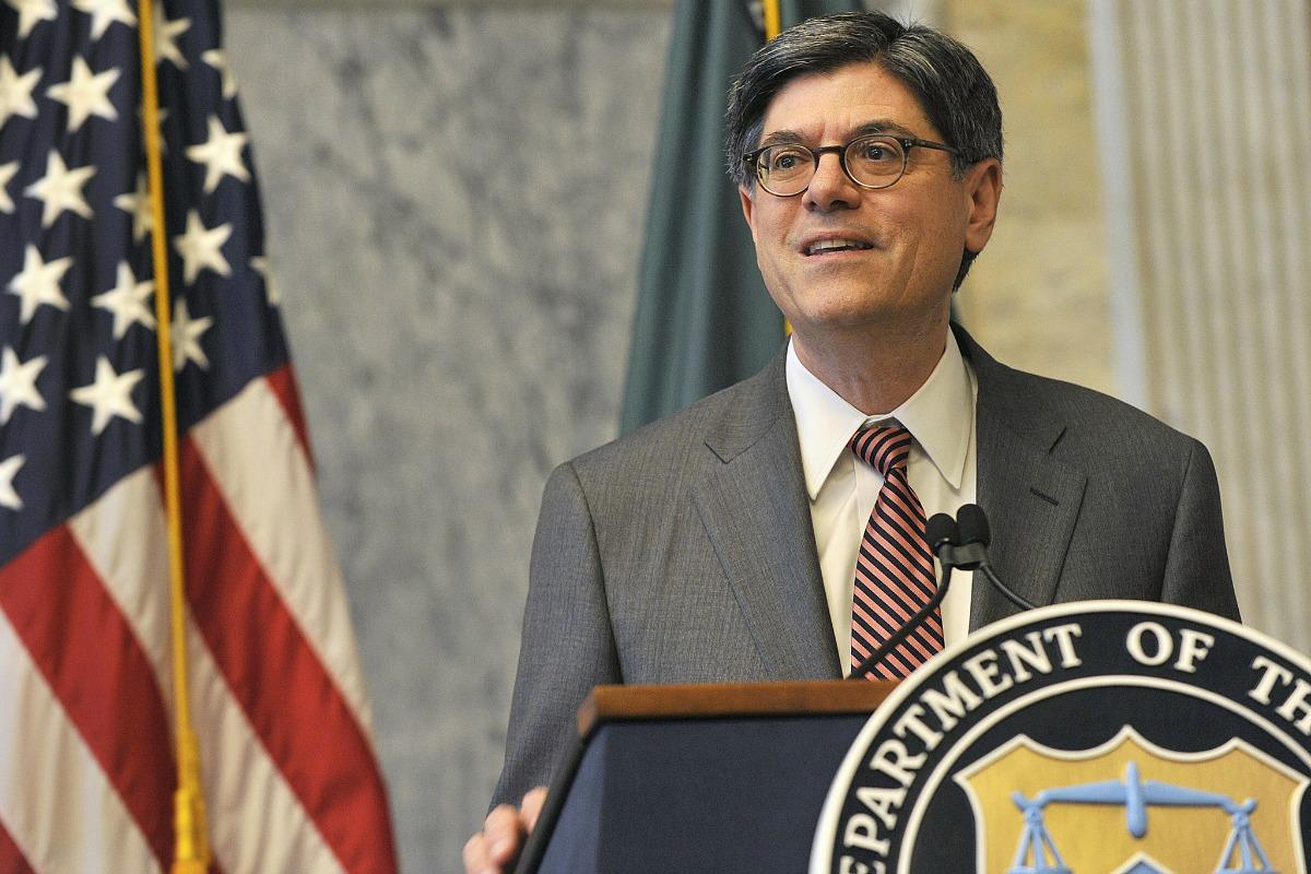 US Secretary of the Treasury Jacob J. Lew [US Dept. of the Treasury/Flickr]