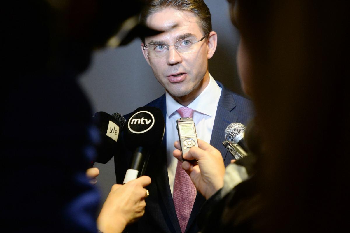 Jyrki Katainen, vice-président de la Commission européenne en charge de l'Emploi de la Croissance, de l'Investissement et de la Compétitivité