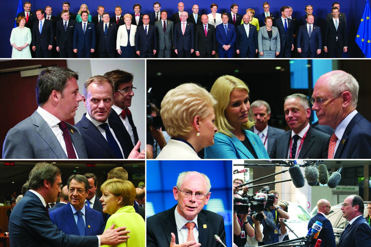 Special EU summit meeting, July 2014 [European Council/Flick]