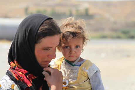 Hundreds of thousands of refugees will be at risk for survival this winter. [UNICEF]