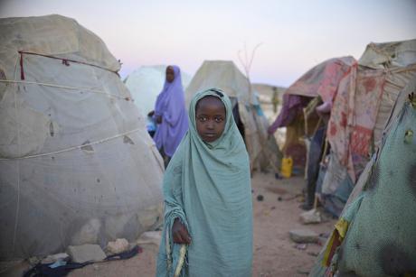 A refugee camp near Belet Weyne, Somalia. [UN Photo]