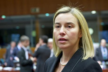 EU High Representative for Foreign Affairs Federica Mogherini. [The Council of the European Union]