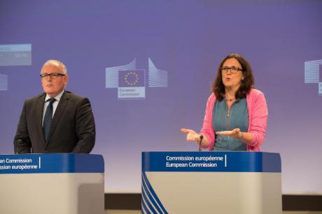 Trade Commissioner Cecilia Malmström. [EC]