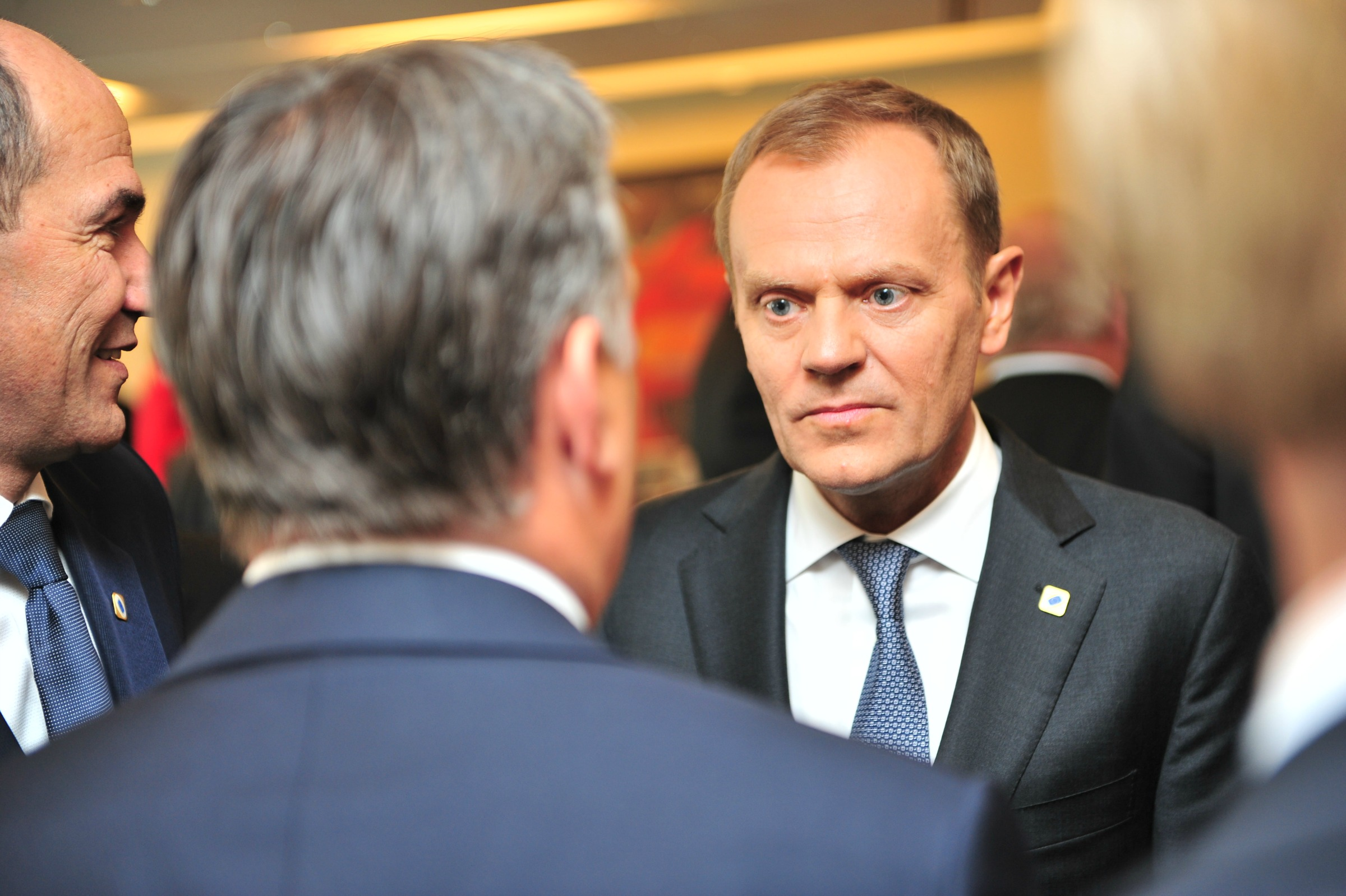 Donald Tusk, president of the European Council /