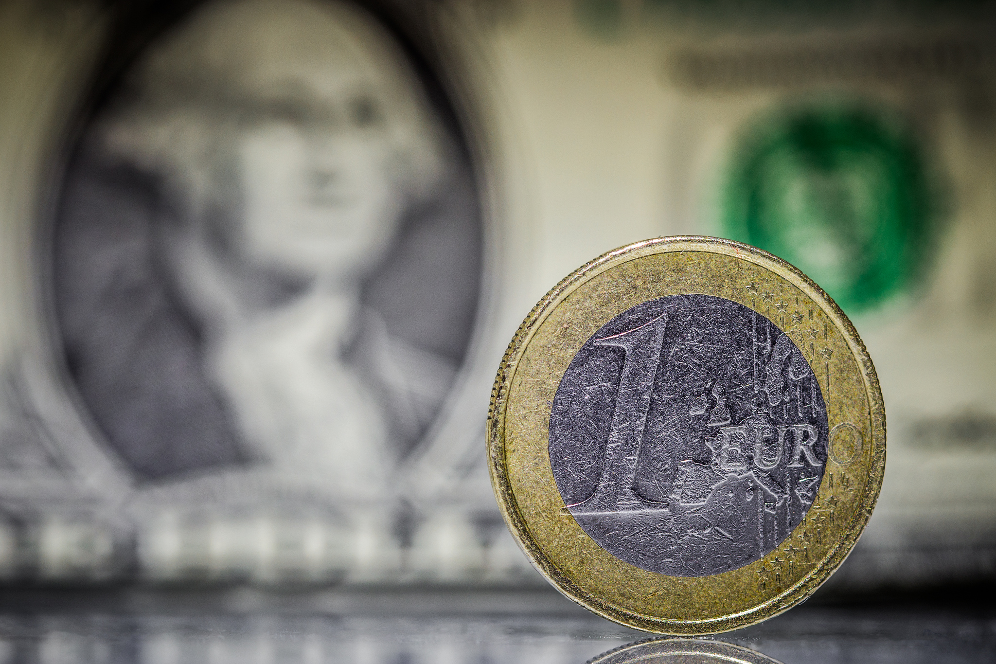 The Euro reached its lowest point against the dollar for nine years this week.