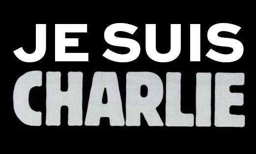 """I am Charlie"", the slogan of solidarity."