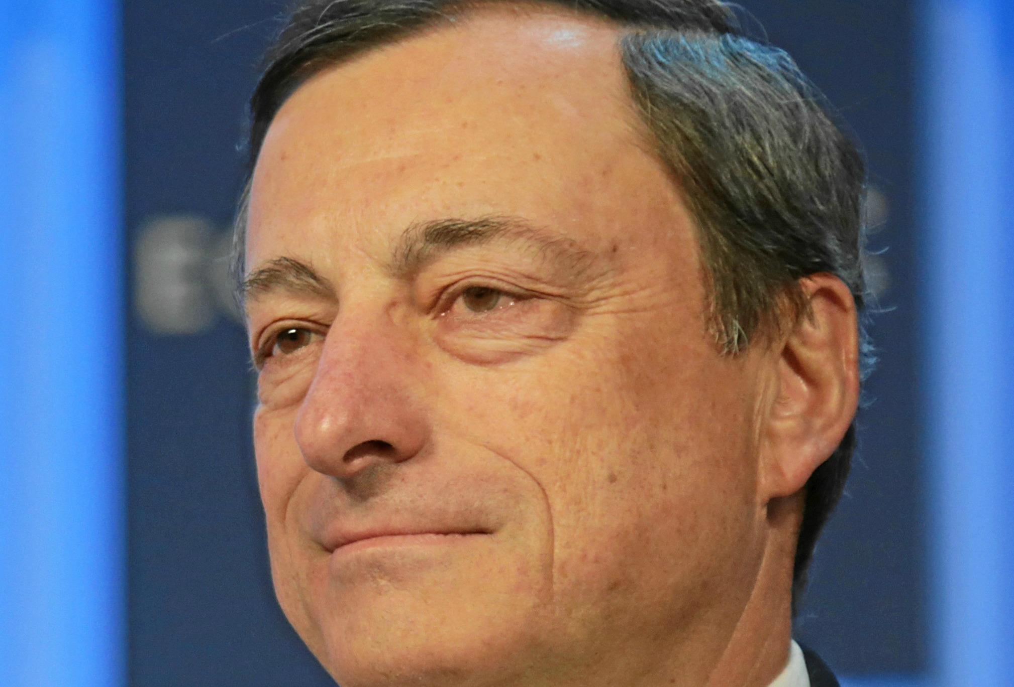 Mario Draghi is the President of the European Central Bank.