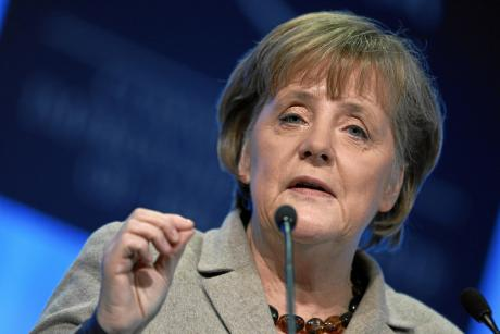 German Chancellor Angela Merkel hopes Germany and Europe can catch up with the United States and China in the digital sector. [World Economic Forum]