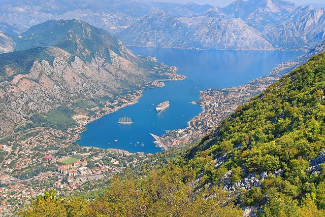 La baie de Kotor au Monténégro