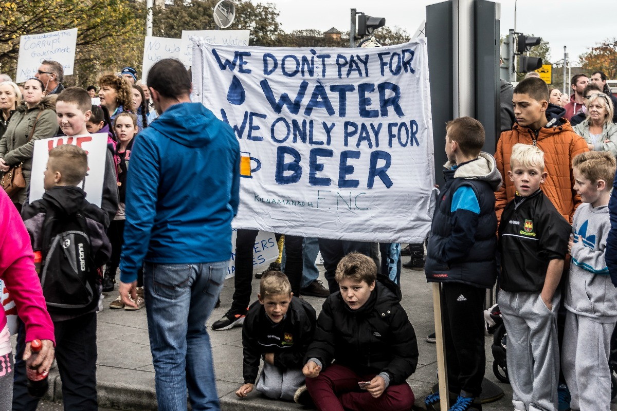 We only pay for beer