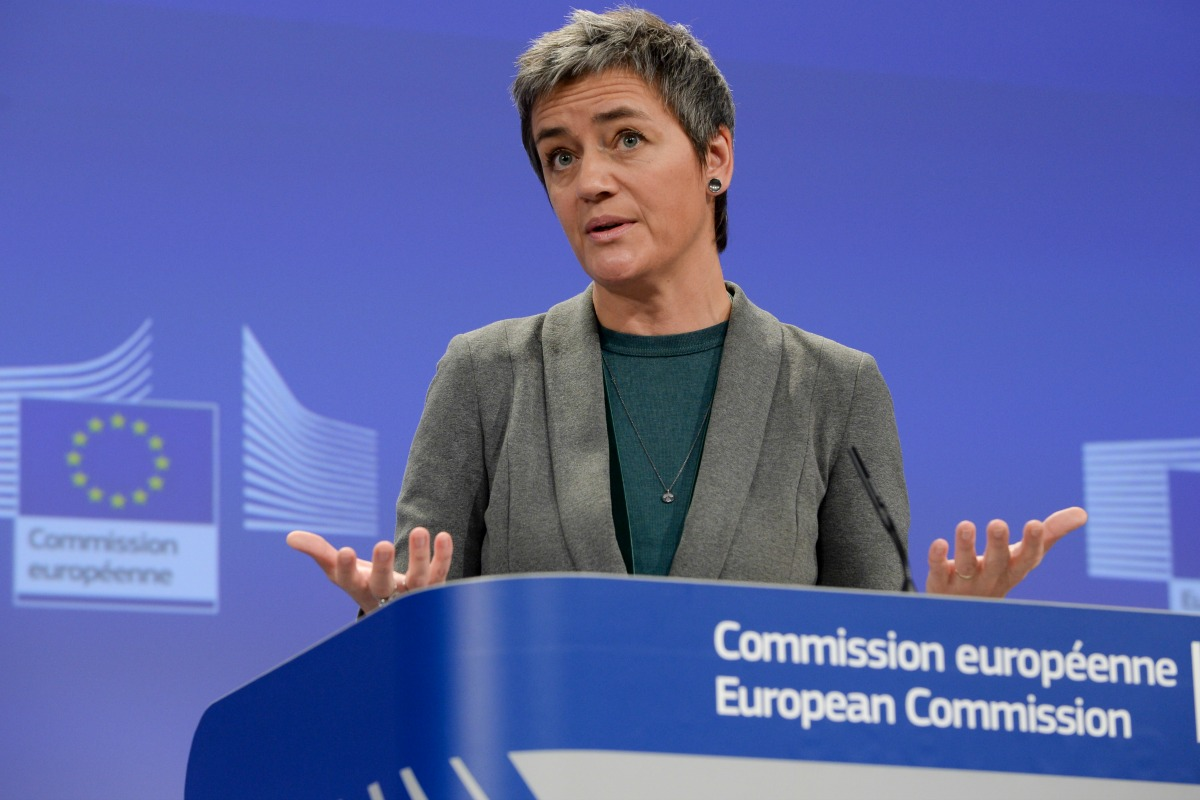 Margrethe Vestager, Member of the European Commission in charge of Competition. 20 November. [EC]