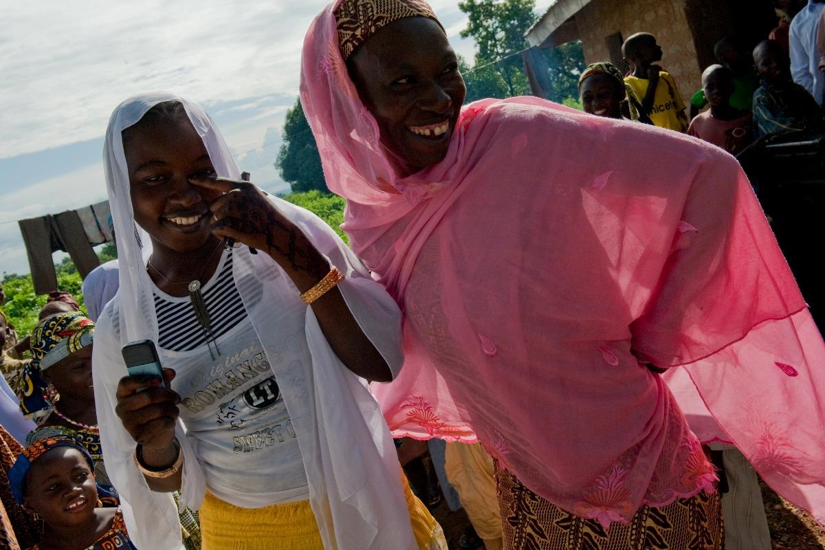 Women in Takalafiya-Lapai village (Niger State)