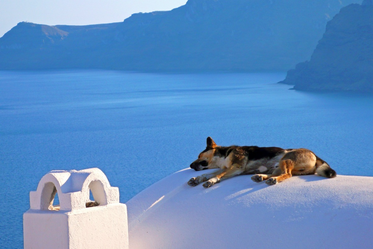 Siesta in Greece