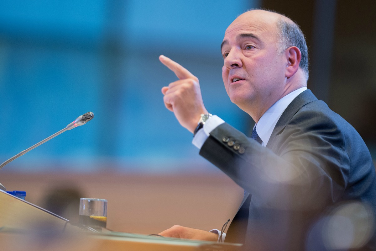 Hearings of candidate commissioner Pierre Moscovici. [European Parliament / Flickr]