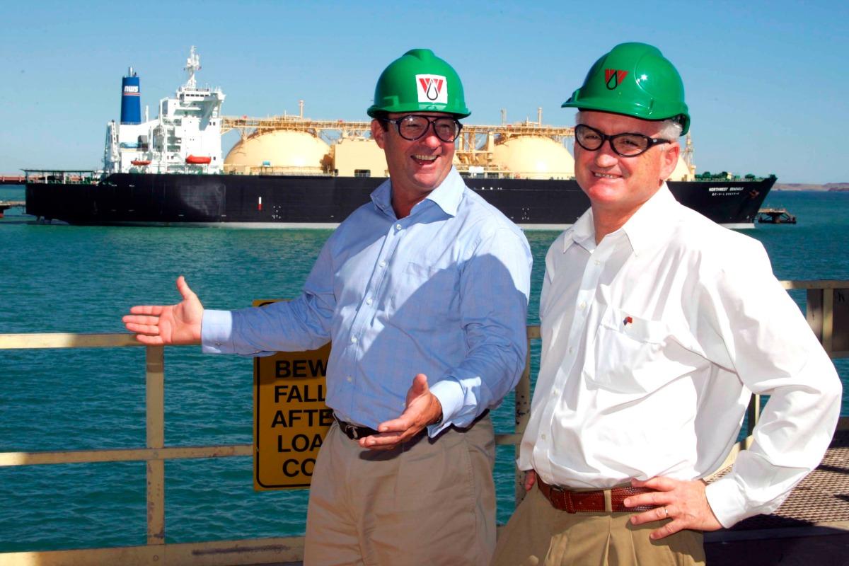 Australia LNG ship