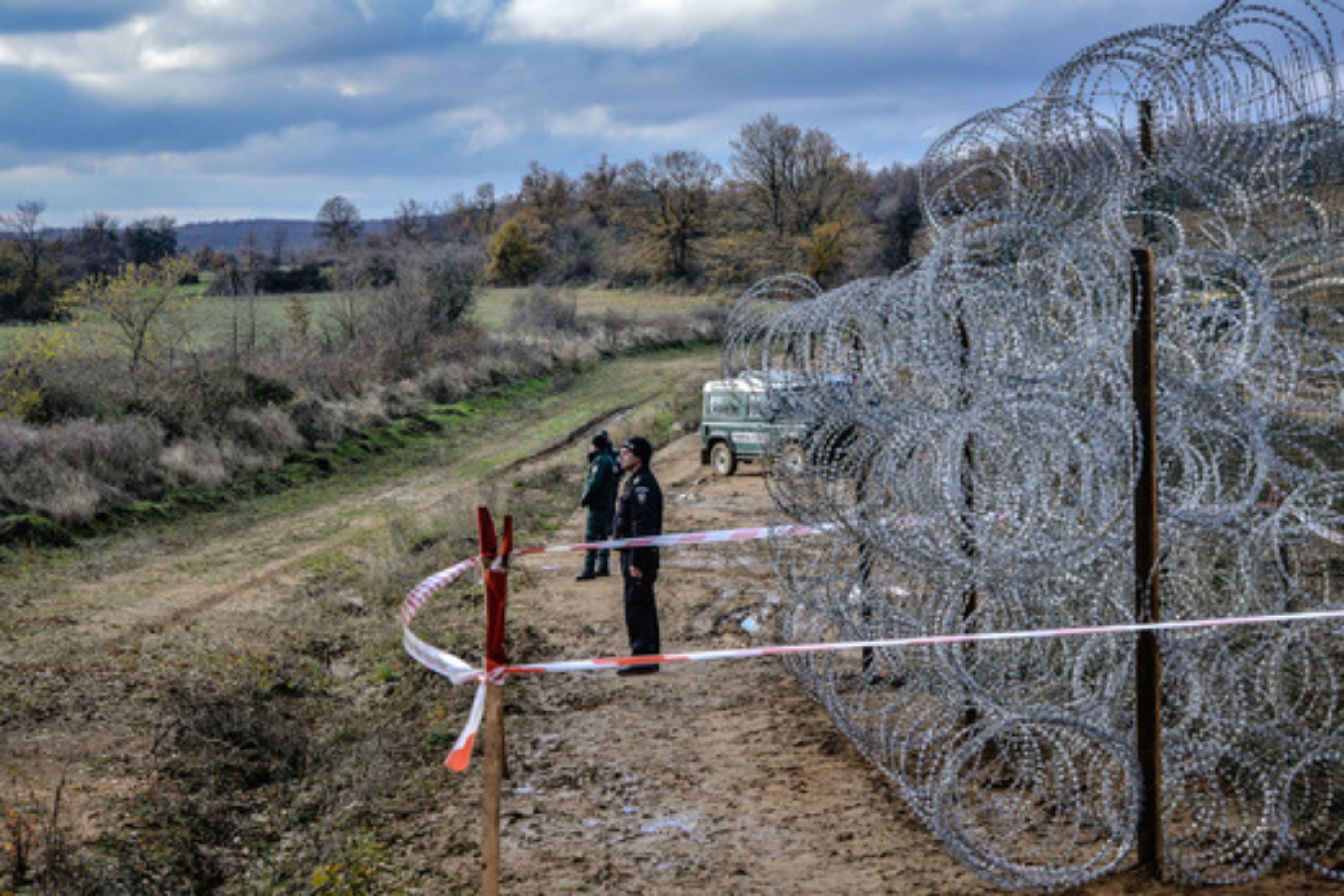 Image result for hungarian border wall