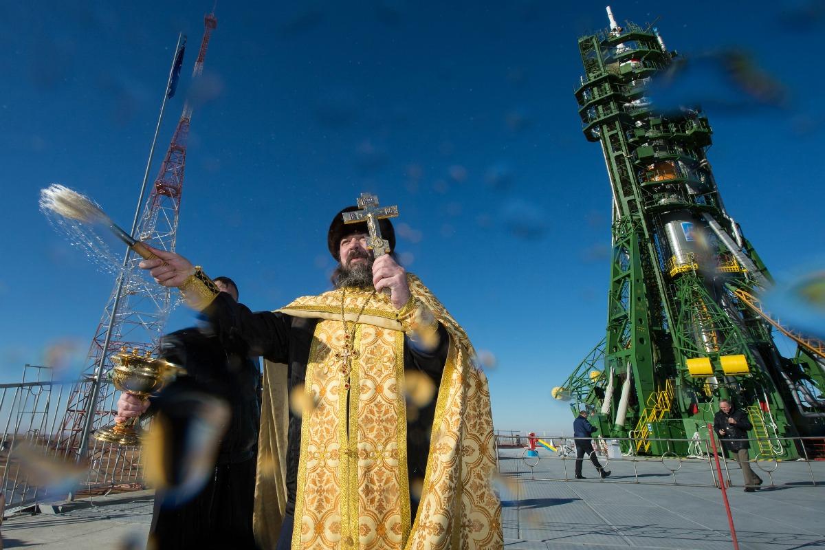 Baikonur blessing