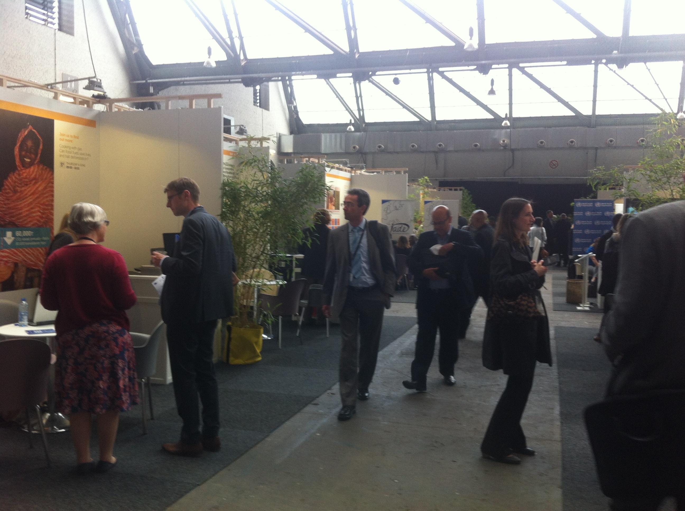 NGO stands at the European Development Days (4 June) [Georgi Gotev]
